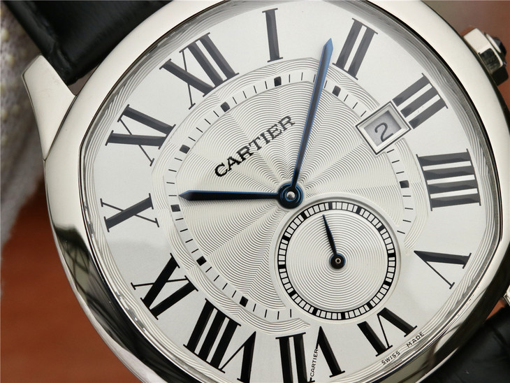 Cartier Drive White Dial
