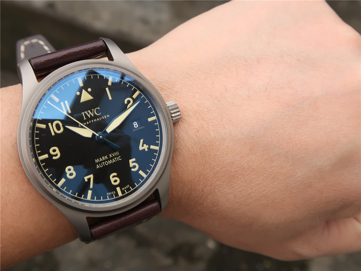 IWC Mark XVIII Wrist Shot Photo