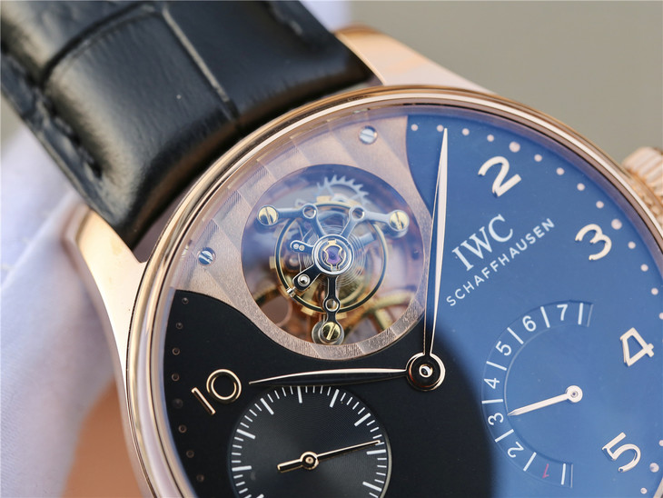 IWC Portuguese Tourbillon Device