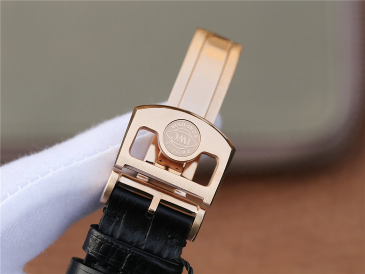 IWC Portuguese Tourbillon Rose Gold Clasp