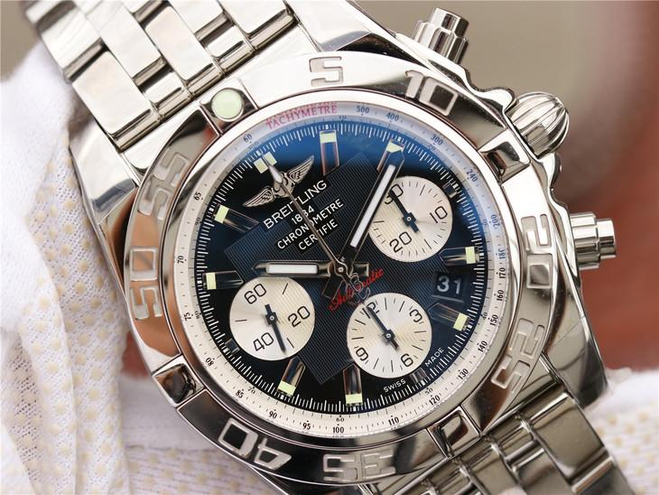 Replica Breitling Chronomat B01 Black Dial