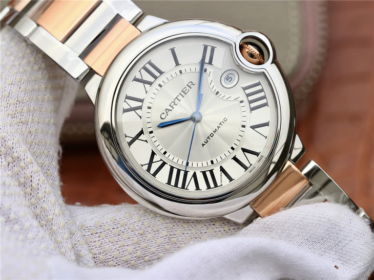 Replica Cartier Ballon Bleu 42mm Two Tone