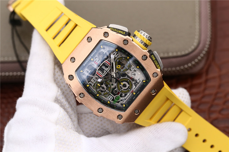Replica Richard Mille RM11-03 Rose Gold