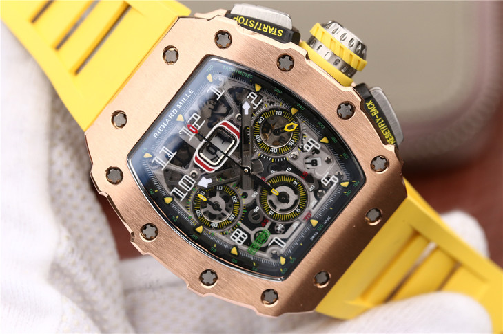 Replica Richard Mille RM11-03 Skeleton Dial