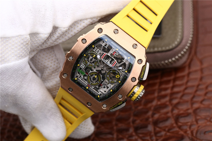 Replica Richard Mille RM11-03 Yellow
