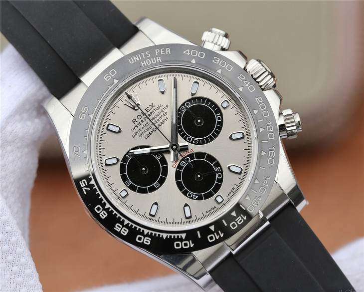 Replica Rolex Daytona Grey Dial