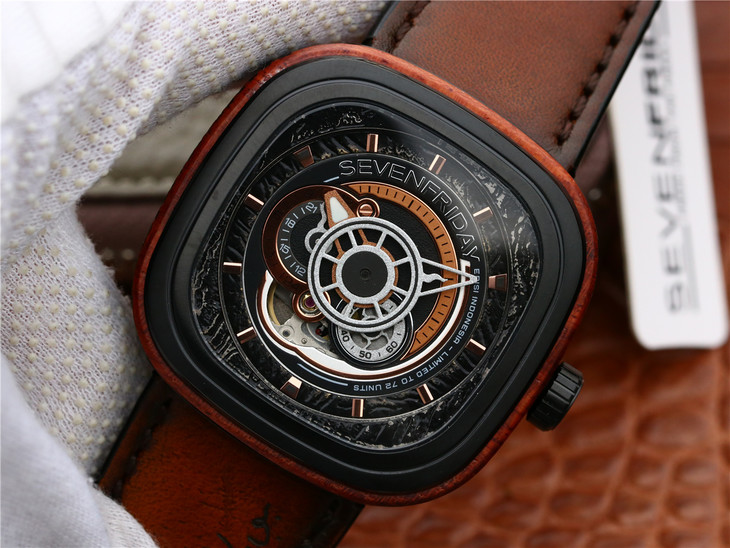 Replica SevenFriday Wood Watch