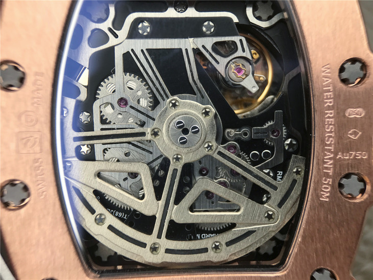 Richard Mille RM11-03 Crystal Back 1