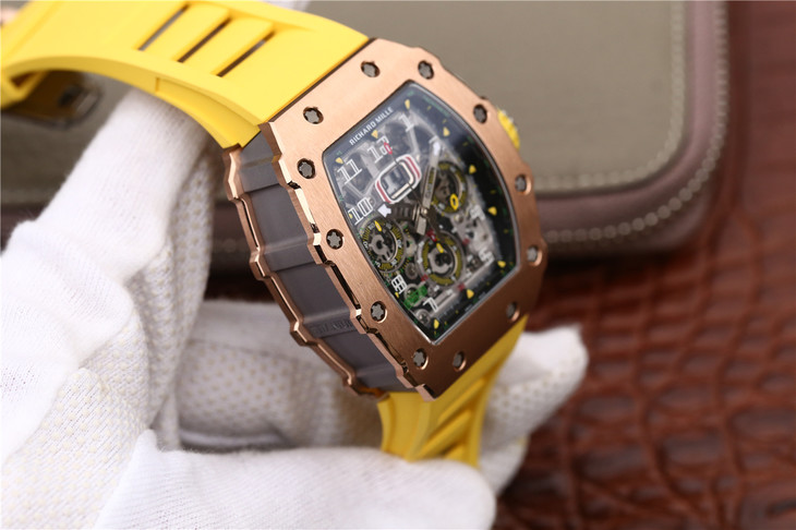 Richard Mille RM11-03 Rose Gold Case