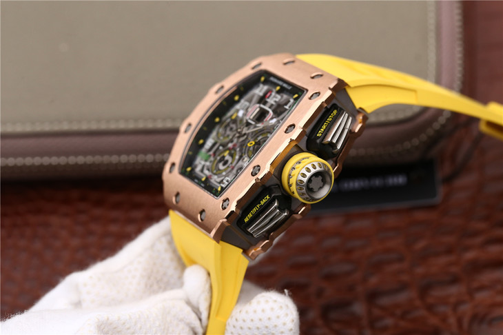 Richard Mille RM11-03 Titanium Middle Case