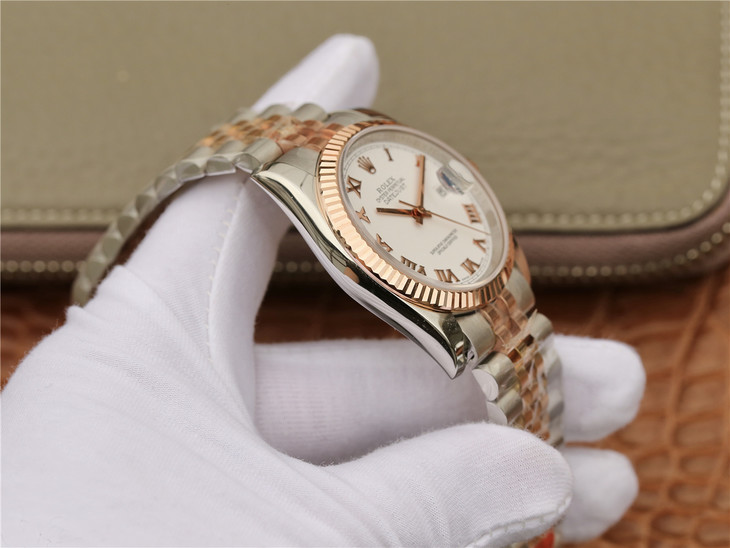 Rolex 36mm Datejust Two Tone Case
