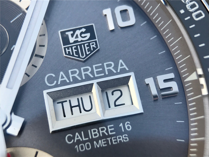 Tag Heuer Carrera Calibre 1887 Day-Date Window
