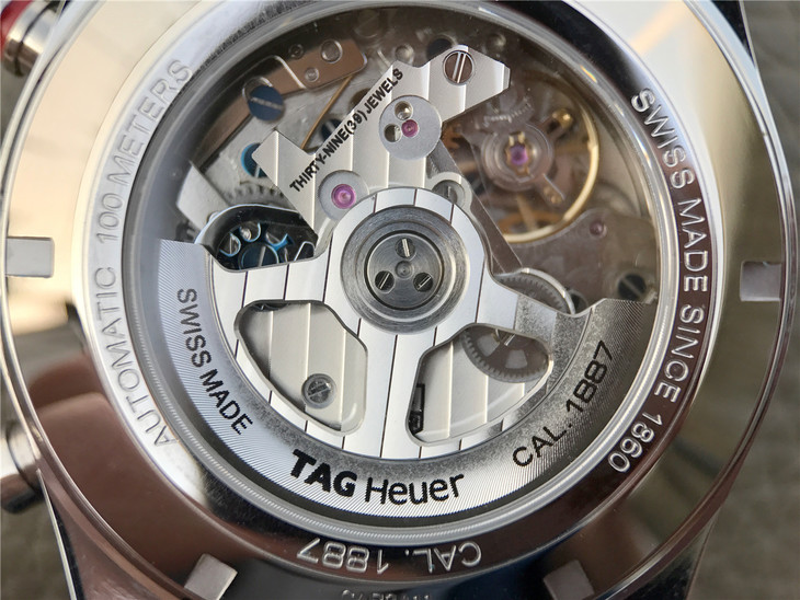 Tag Heuer Carrera Clone 1887 Movement