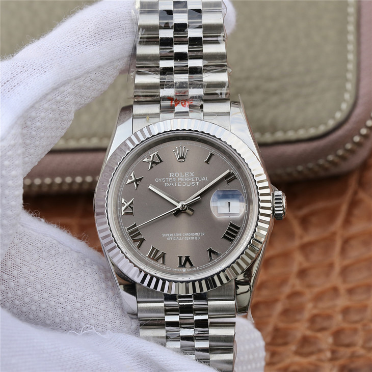 GMF Replica Rolex Datejust 36mm 904L Rome