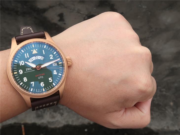 IWC Spitfire UTC Wrist Shot