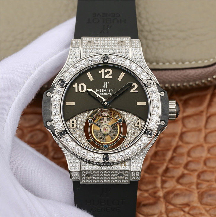 Replica Hublot Tourbillon Diamond Watch