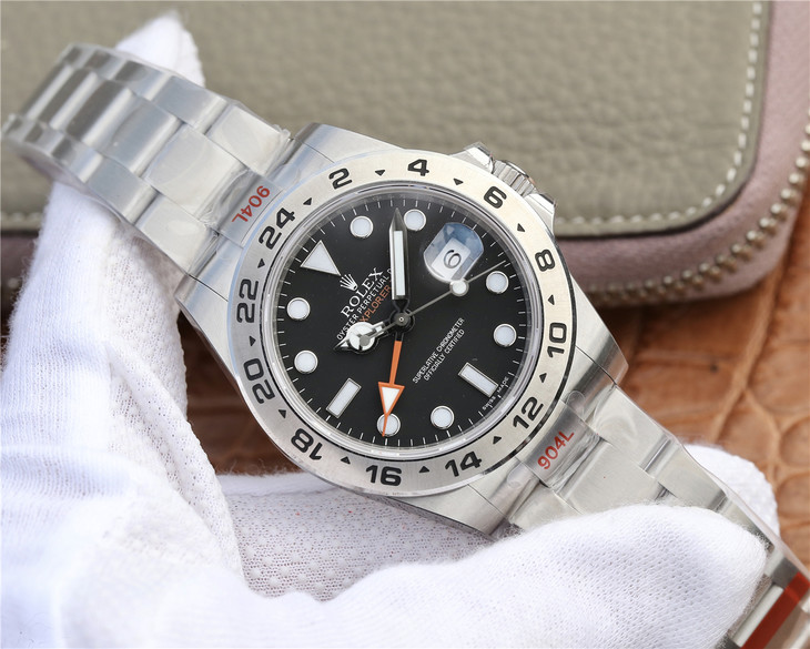 Replica Rolex Explorer II 904L