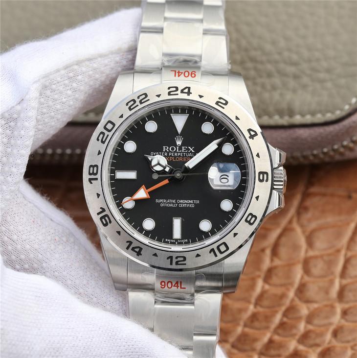 Replica Rolex Explorer II Black