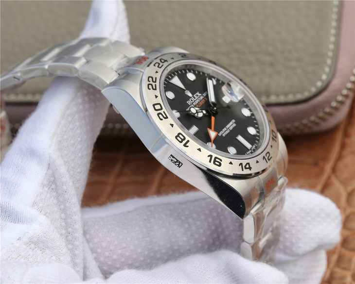 Rolex Explorer II 904L Steel Case