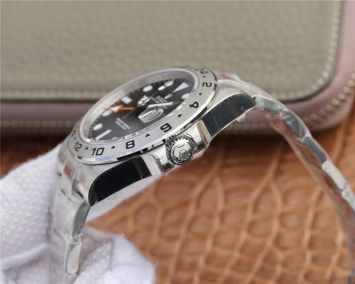 Rolex Explorer II 904L Steel Crown