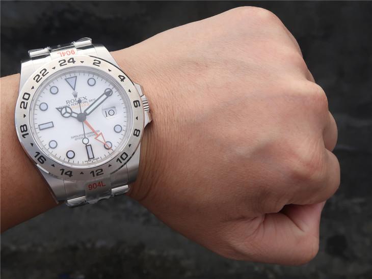 Rolex Explorer II Wrist Shot 2