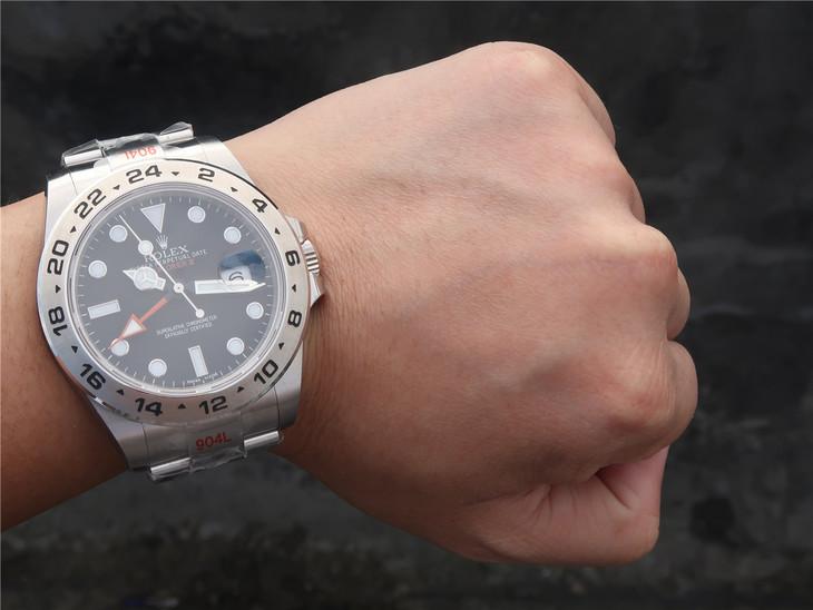Rolex Explorer II Wrist Shot