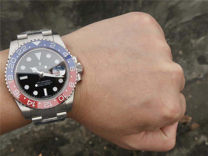 Rolex GMT-Master II 116719BLRO Wrist Shot