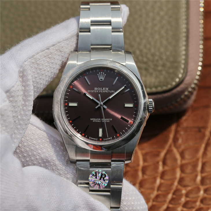 AR Factory Replica Rolex Oyster Perpetual 39mm