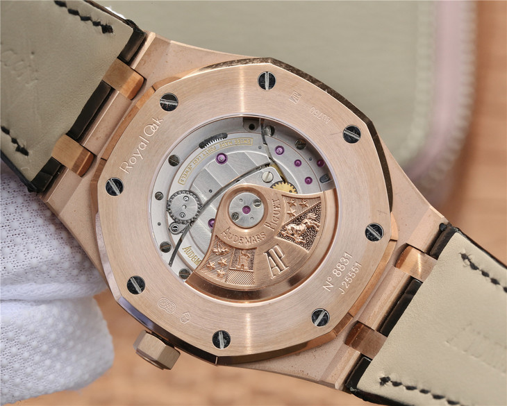 Audemars Piguet 15400 Crystal Back