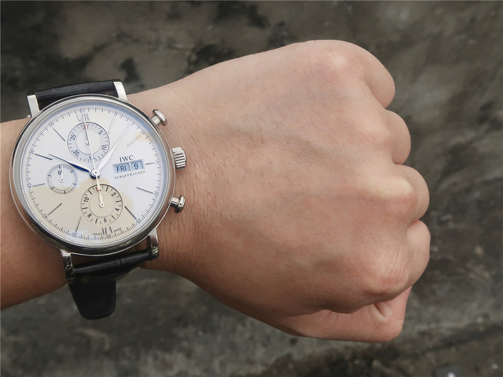 IWC Portofino Watch Wrist Shot