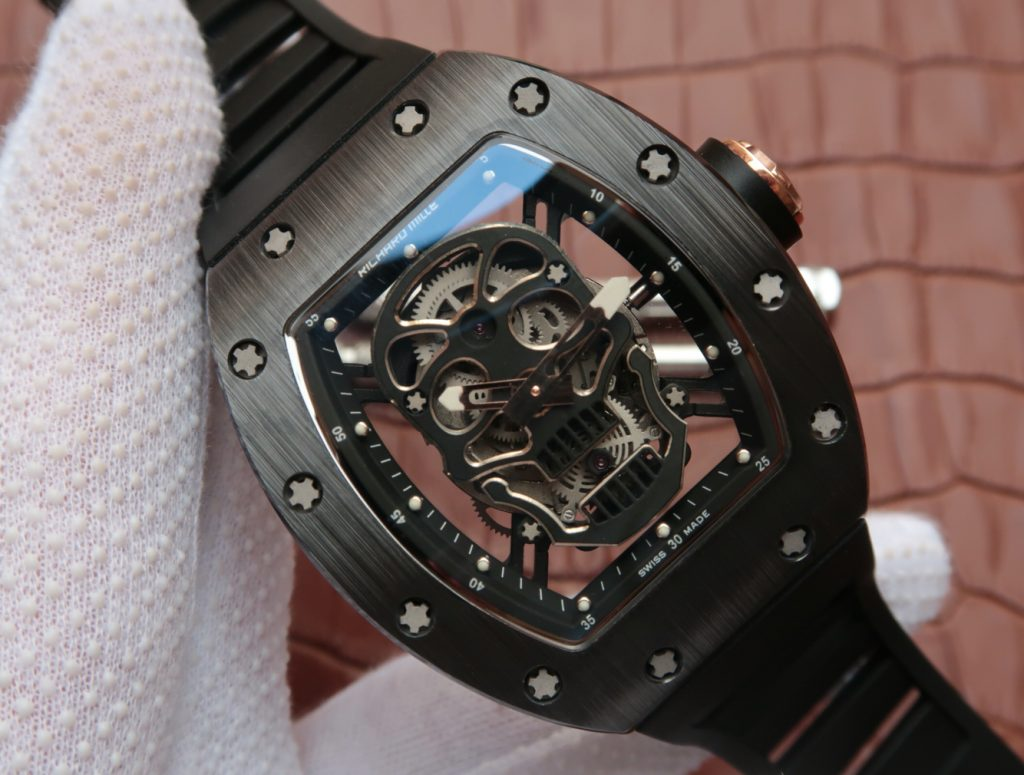 KV Replica Richard Mille Black