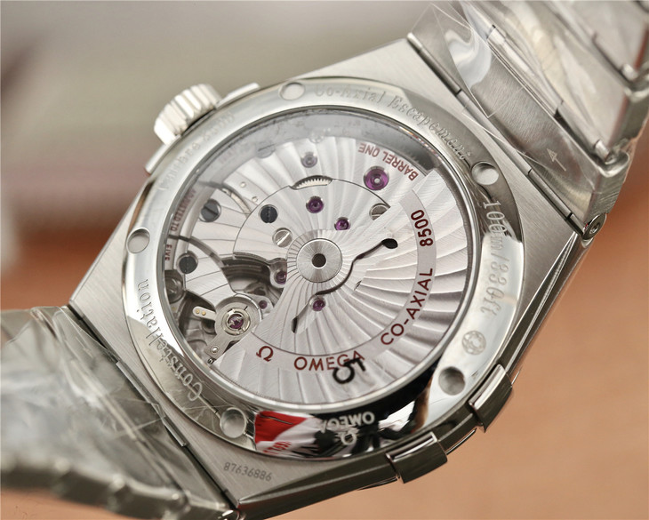 Omega Constellation Crystal Back