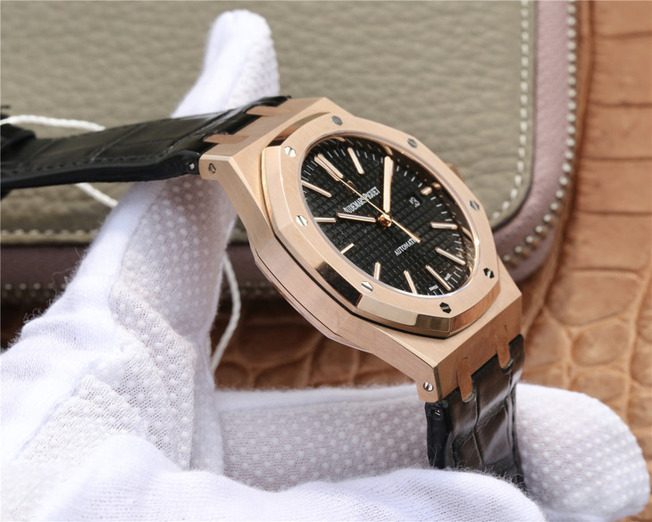 Replica Audemars Piguet 15400 Rose Gold Case