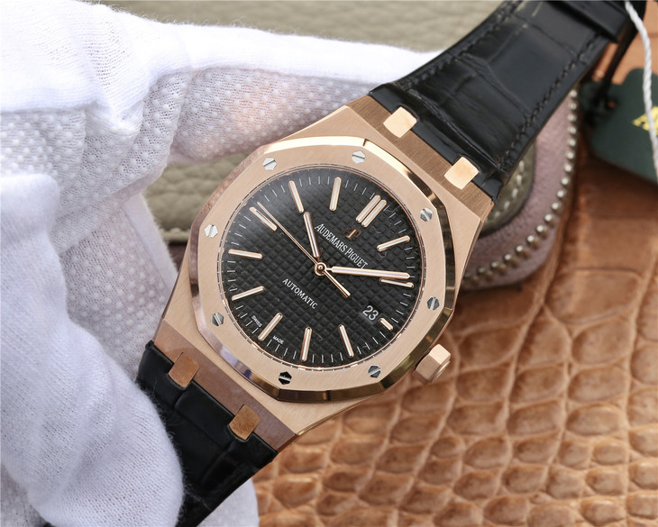 Replica Audemars Piguet 15400 Rose Gold