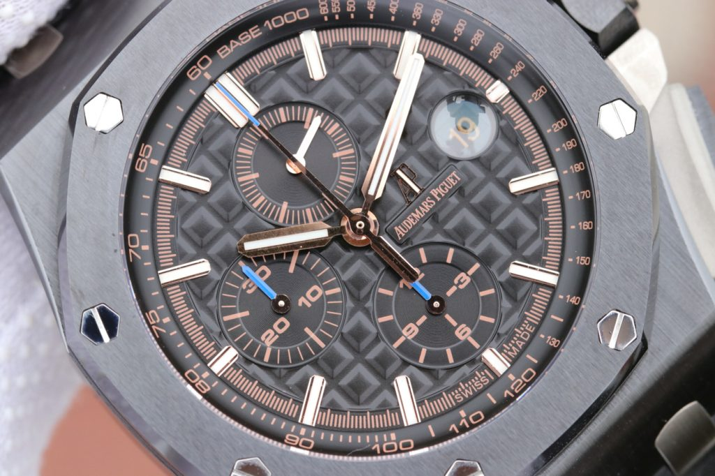 Replica Audemars Piguet 26405 Checkered Dial