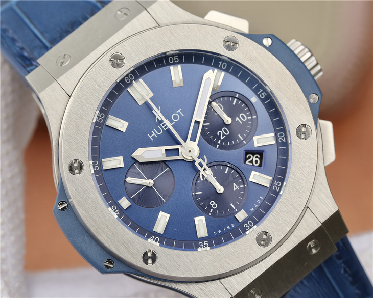 Replica Hublot Big Bang Blue Dial