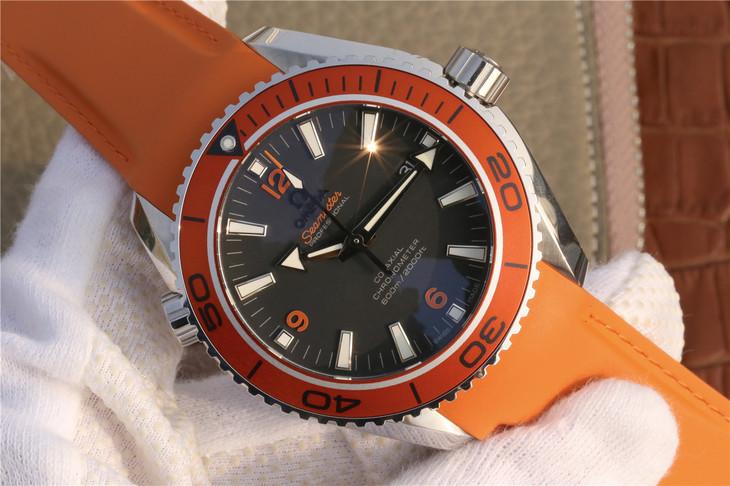 Replica Omega Planet Ocean 600m Orange