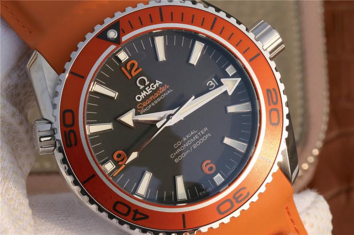 Replica Omega Planet Ocean Black Dial