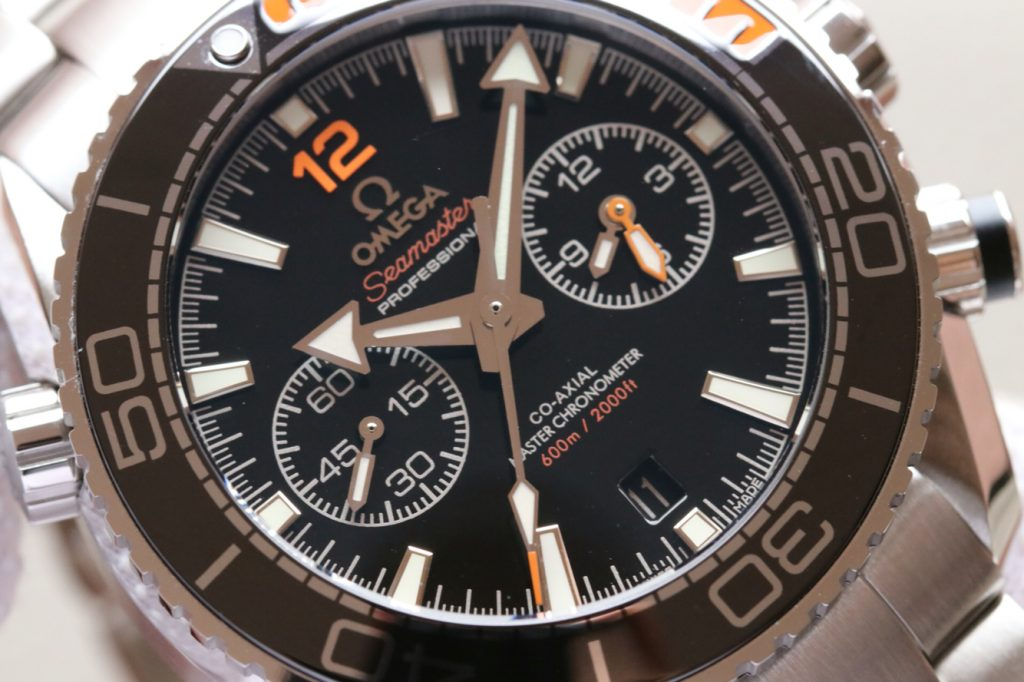 Replica Omega Planet Ocean Chrono Black Dial
