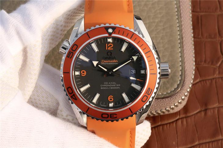 Replica Omega Planet Ocean Orange