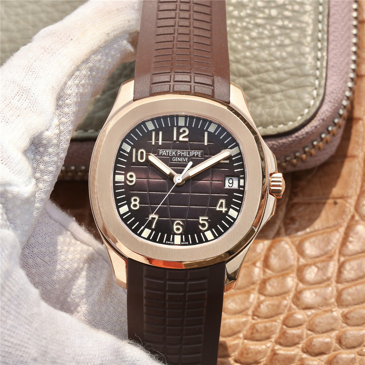 Replica Patek Philippe Aquanaut Rose Gold