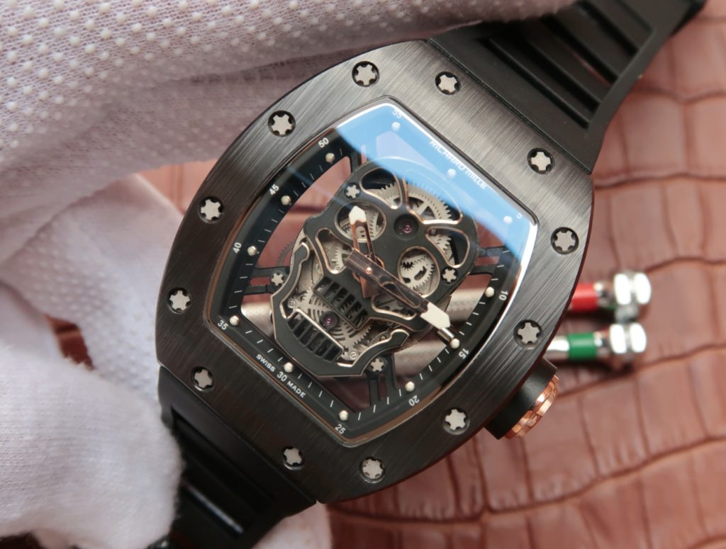 Replica Richard Mille Ceramic Black