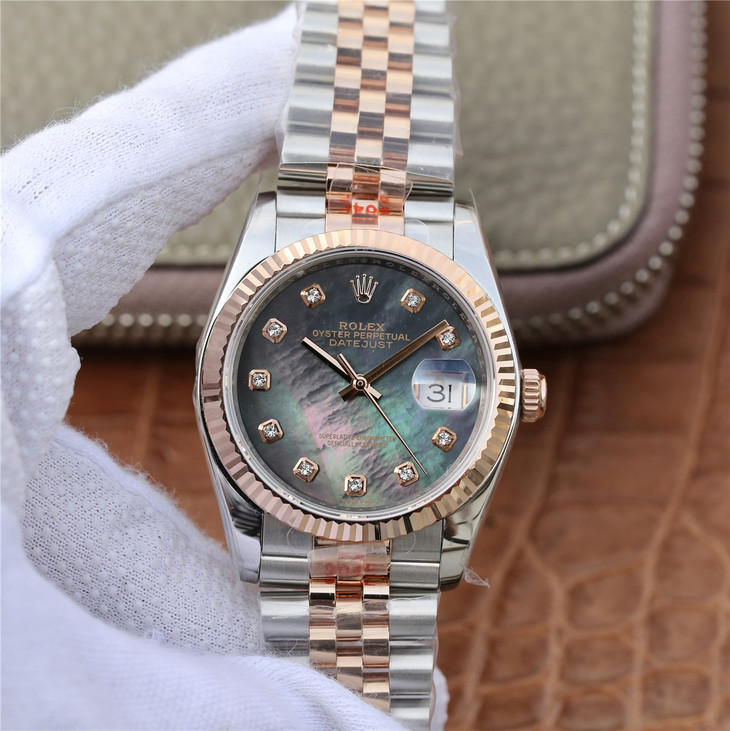 Replica Rolex Datejust 36mm Two Tone