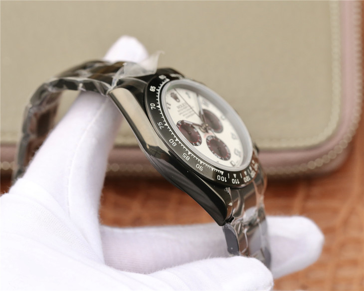 Replica Rolex Daytona Black PVD Case
