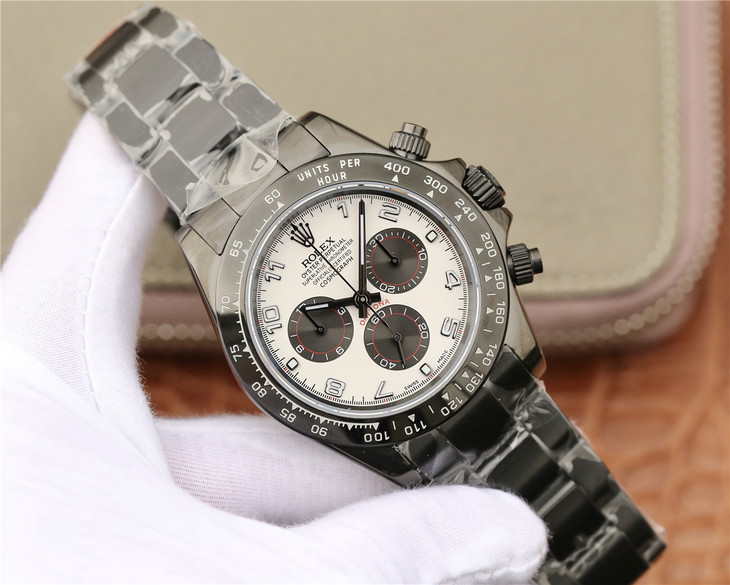 Replica Rolex Daytona PVD Black