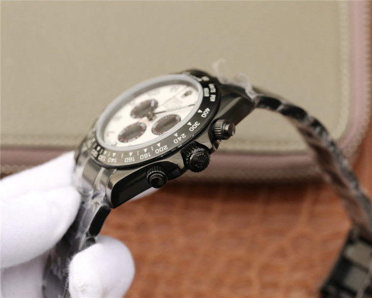 Replica Rolex Daytona PVD Crown