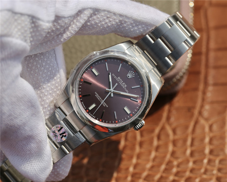 Replica Rolex Oyster Perpetual 39mm Grape