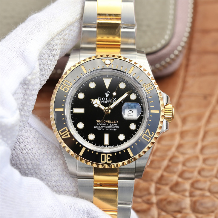 Replica Rolex Sea-Dweller Two Tone