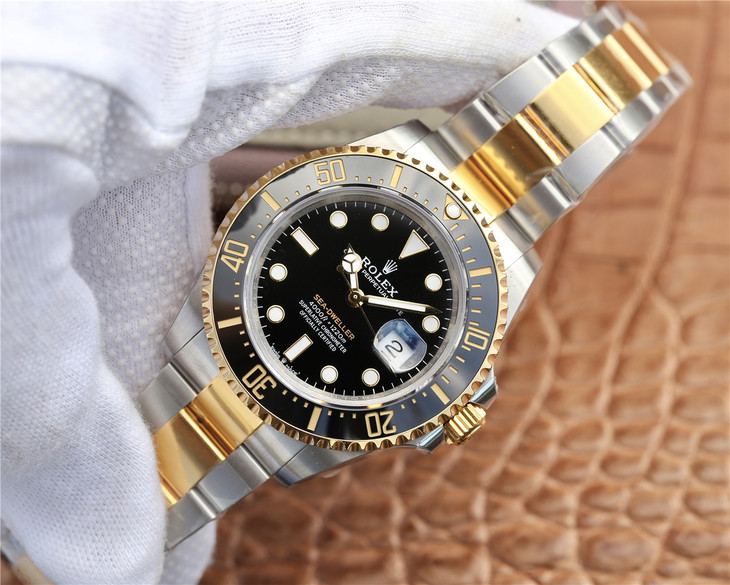 Replica Rolex Sea-Dweller Yellow Gold