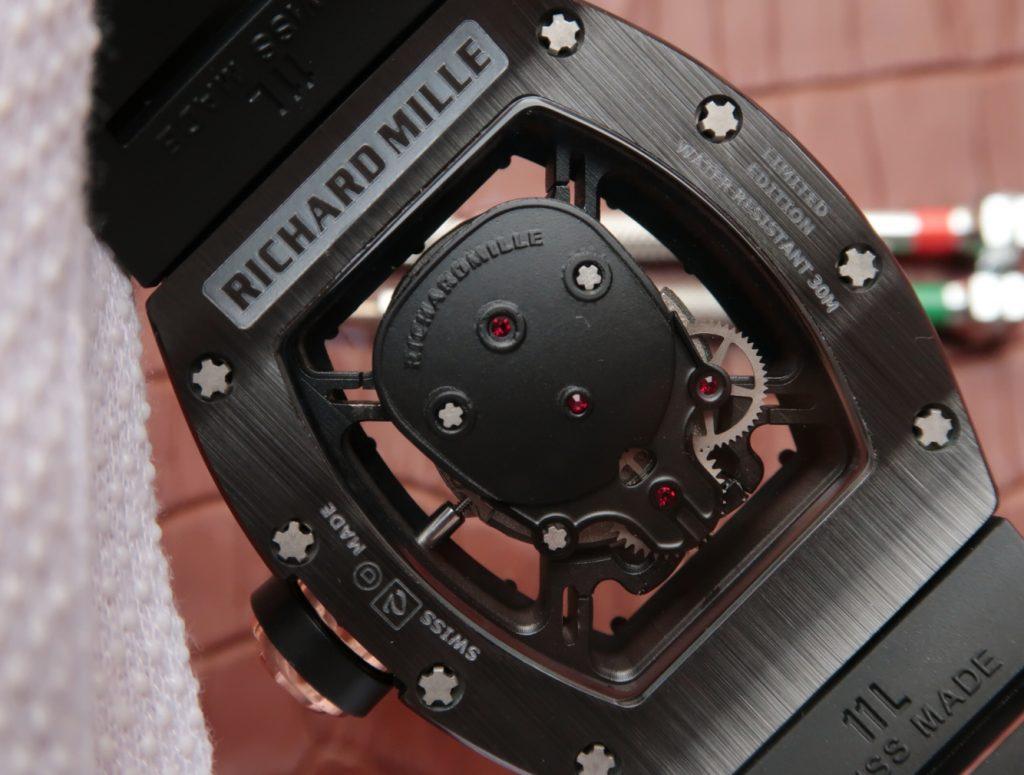 Richard Mille Skull Miyota Automatic
